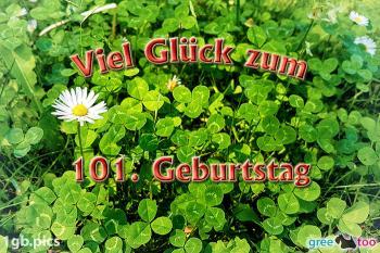 101. Geburtstag Bilder