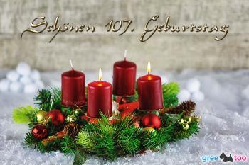 107. Geburtstag Bilder
