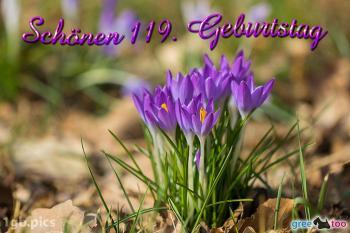 119. Geburtstag Bilder