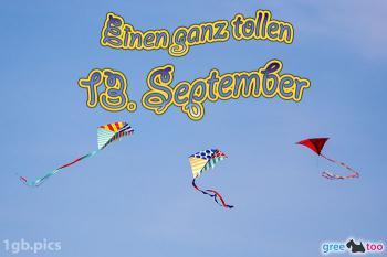 13. September Bilder