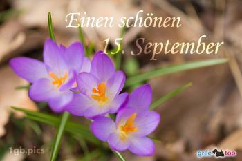 15. September Bilder