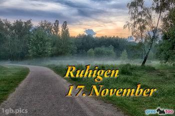 17. November Bilder