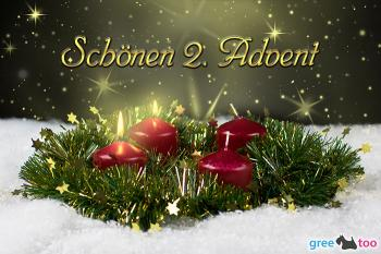 kostenlose 2 advent bilder gifs grafiken cliparts. Black Bedroom Furniture Sets. Home Design Ideas