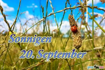20. September Bilder