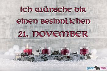 21. November Bilder