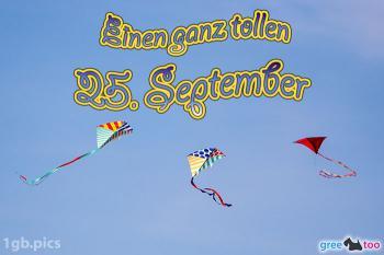25. September Bilder