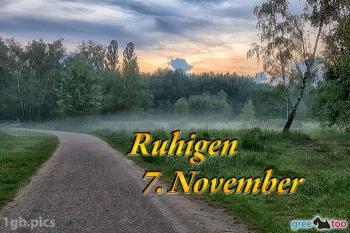7. November Bilder