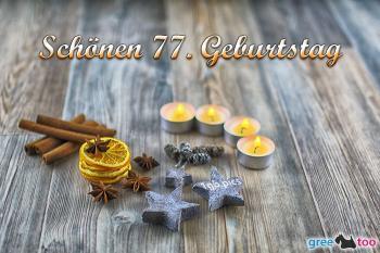 77. Geburtstag Bilder