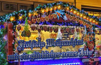 Fröhliche Weihnachten und ein glückliches neues Jahr Bilder