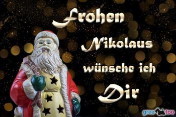 Frohen Nikolaus Bilder