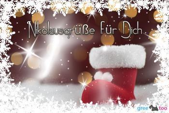 Nikolausgrüße für Dich Bilder