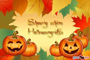Schaurig schöne Halloweengrüße Bilder