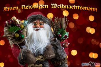 Fleißigen Weihnachtsmann Bilder